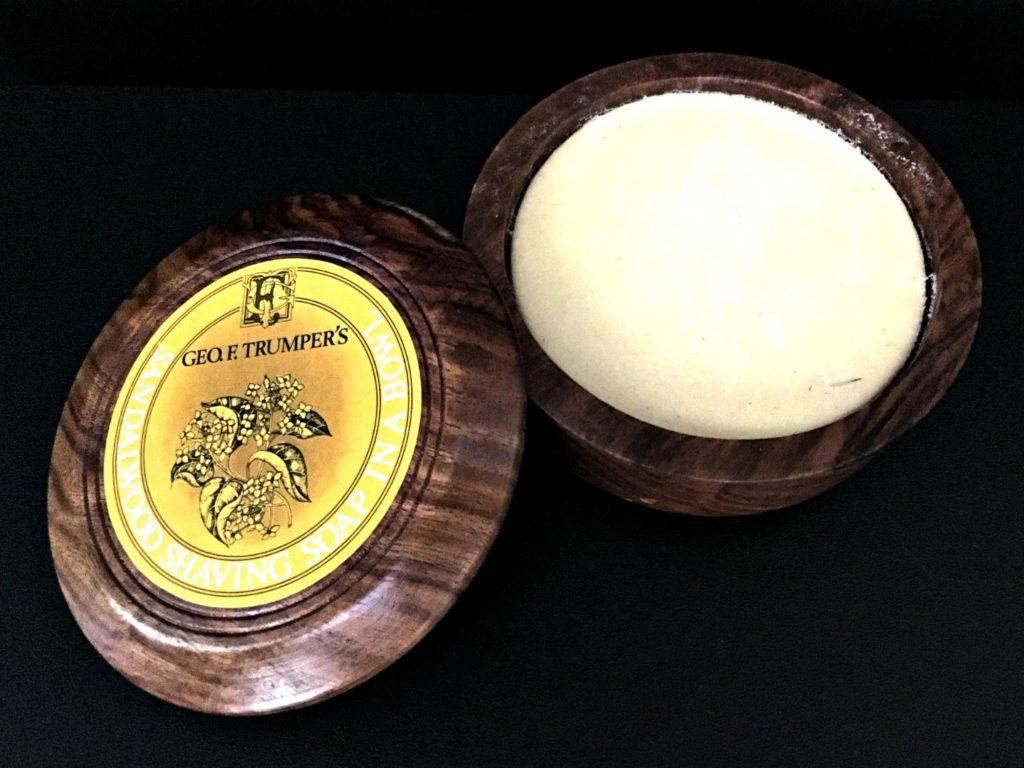 Geo F Trumper's Sandalwood Shaving Soap