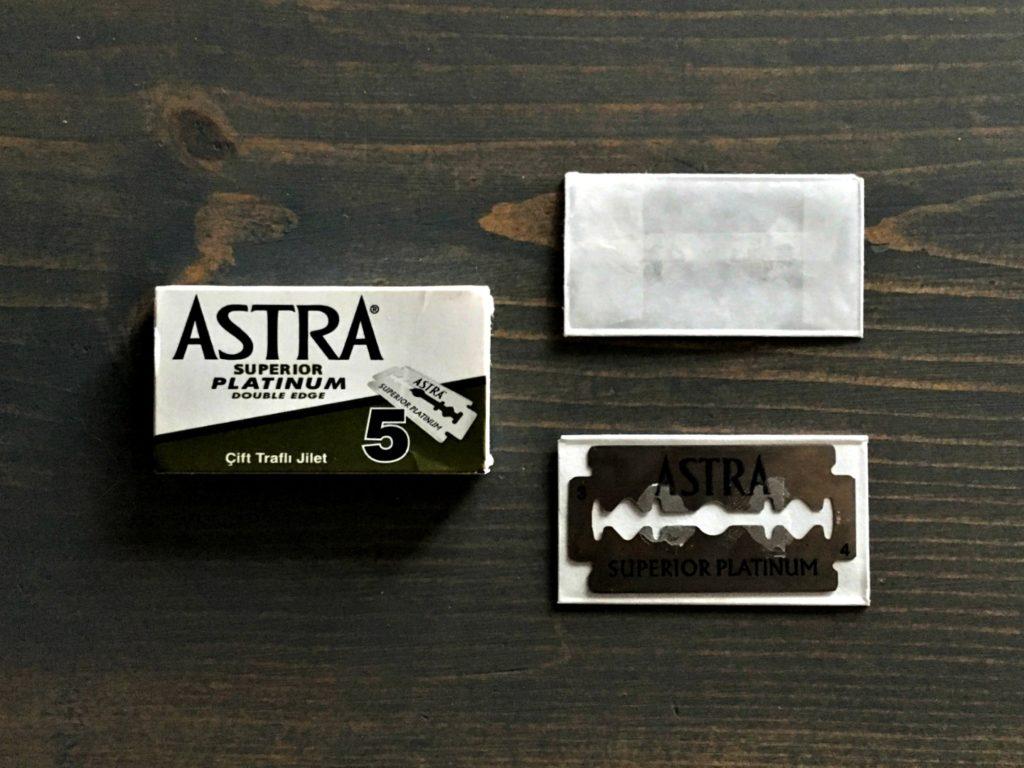 Astra Superior Platinum Razor Blade