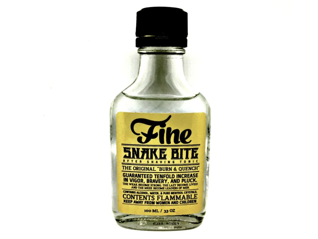 Fine Accoutrements Snake Bite After Shaving Tonic