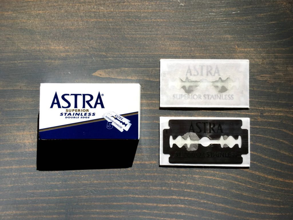 Astra Superior Stainless Razor Blade