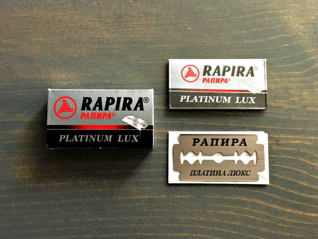 Rapira Platinum Lux Razor Blade