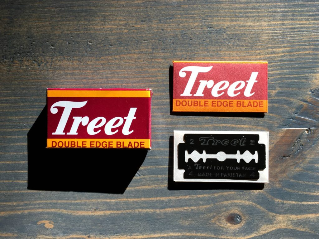 Treet Black Beauty Razor Blade